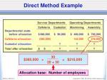direct method example3