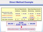 direct method example4