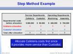 step method example1