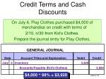 credit terms and cash discounts2