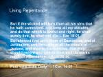 living repentance