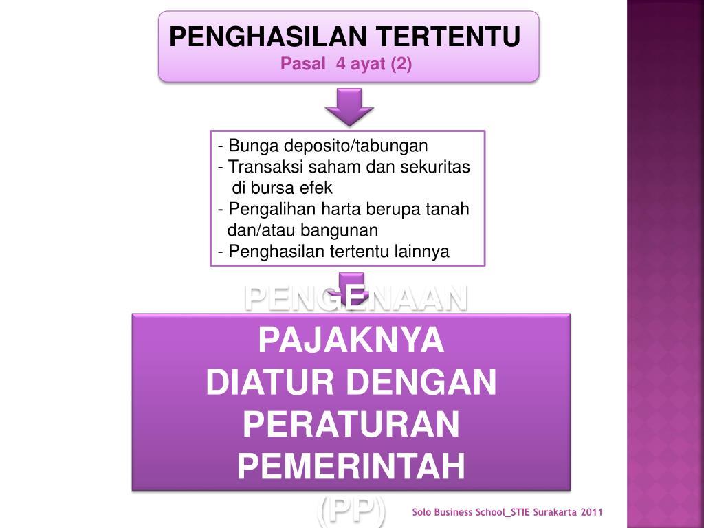 PPT - PAJAK PENGHASILAN UMUM PowerPoint Presentation, free