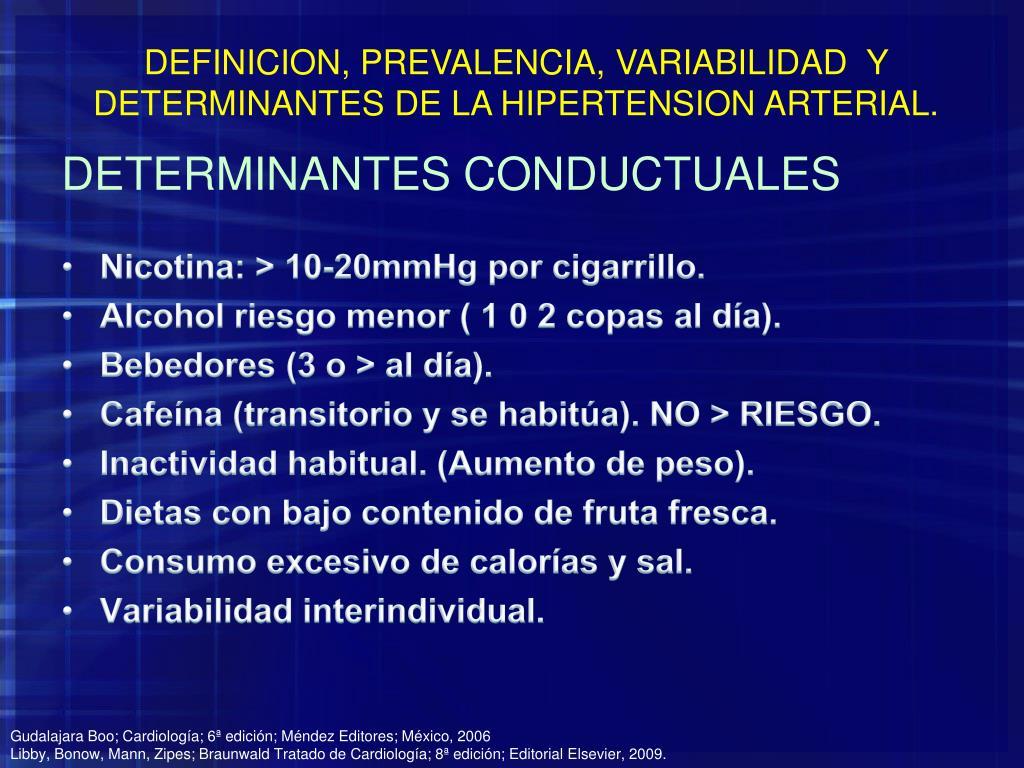 PPT - HIPERTENSIÓN ARTERIAL SISTÉMICA PowerPoint..
