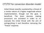 ctt tst for conversion disorder model
