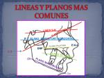 lineas y planos mas comunes