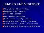 lung volume exercise