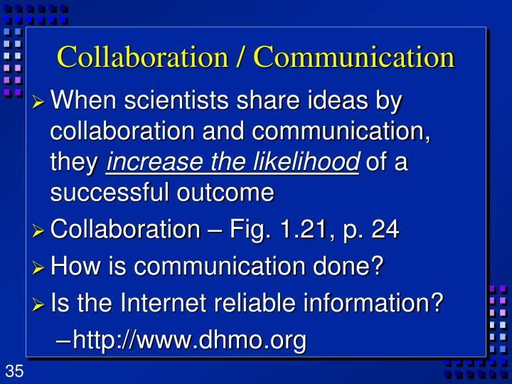 Collaboration / Communication