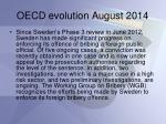 oecd evolution august 2014