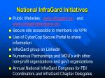 national infragard initiatives