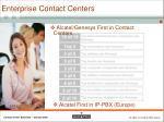 enterprise contact centers
