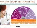 omnitouch contact center premium edition2