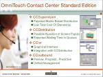 omnitouch contact center standard edition