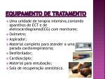equipamento de tratamento