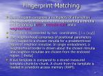 fingerprint matching1