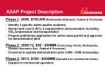 asap project description