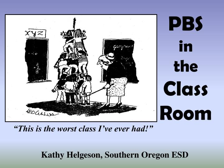 pbs in the class room n.