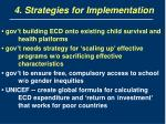 4 strategies for implementation