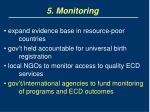 5 monitoring