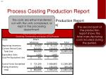 process costing production report2