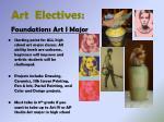 art electives