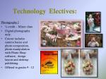 technology electives