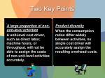 two key points