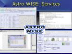 astro wise services