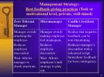 management strategy best feedback giving practices task or motivational level private well timed