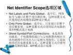 net identifier scope
