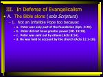iii in defense of evangelicalism5