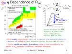 dependence of r dau
