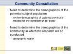 community consultation2