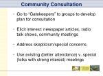 community consultation3