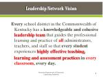 leadership network vision