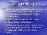 gula pentosa