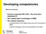 developing competencies1