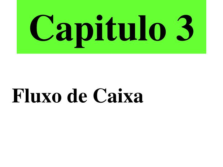 Capitulo 3