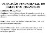 obriga o fundamental do executivo financeiro1