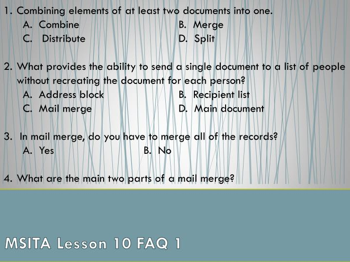 msita lesson 10 faq 1 n.