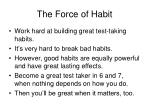 the force of habit5