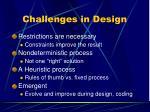 challenges in design2