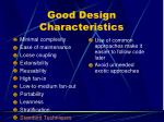 good design characteristics10