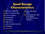 good design characteristics8