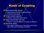 kinds of coupling