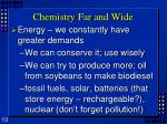 chemistry far and wide1