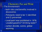 chemistry far and wide4