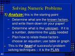 solving numeric problems2