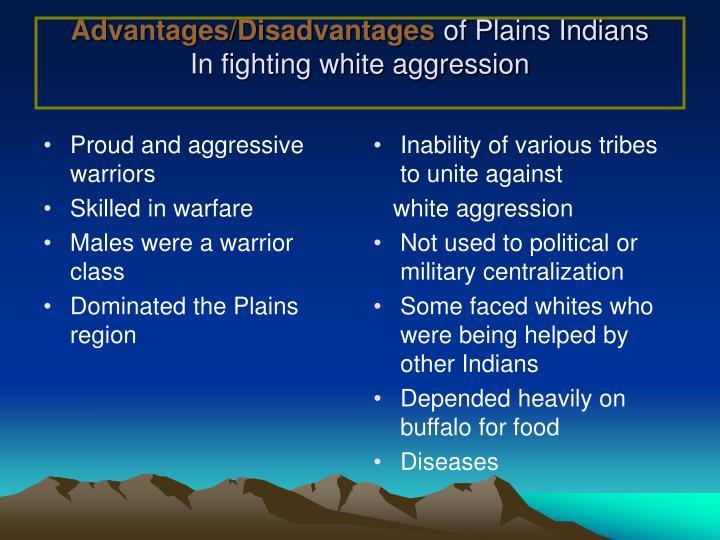disadvantages of plains