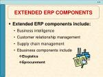 extended erp components