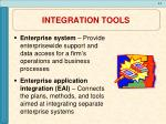 integration tools